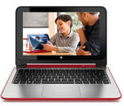 HP Pavilion X360 11-n032tu Notebook (4th Gen Intel PQC- 4GB RAM/ 500GB HDD/ Win8.1) (J8B99PA), red