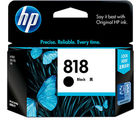 HP 818 Black Ink Cartridge(Black) (Black)