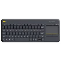 Logitech K400 Plus Wireless Keyboard, standard-black