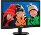 Philips 193V5LSB23 18.5 inch LED Backlit LCD Monitor, black