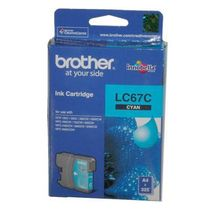 Brother-LC67C Cartridge,  cyan