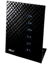 Asus Stylish Concurrent Dual Band Wireless-N Gigabit Router RT-N56U (Black)