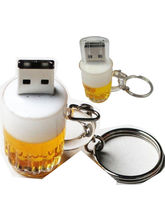 Microware Beer Mug Shape Designer Fancy Pendrive (Multicolor,4 GB)