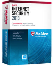 McAfee internet Security Suite 2013 (1 user) (Multicolor)