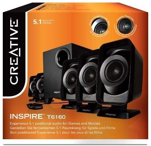 Creative Inspire T6160 5 1 Speakers Price In India Buy