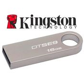 Kingston Metal DataTraveler SE9 Pen Drive,  champagne, 16 gb