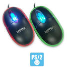 Zebronics M05 Optical PS2 Mouse, multicolor