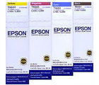 Epson Ink Bottle Set For L Series Printer (Black+ Cyan+ Maganta+ Yellow), multicolor