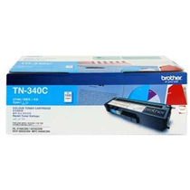 Brother Toner Cartridge TN340 Cyan,  cyan