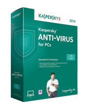 Kaspersky Anti Virus 1 Year 2014, multicolor, 1 user