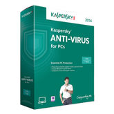 Kaspersky Anti Virus 1 Year 2014