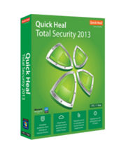Quick Heal Total Security 2013 1 user 1 Year, green