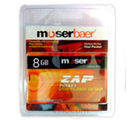 Moser Baer ZAP Pendrive (Black, 8 GB)