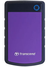 Transcend StoreJet 25H3P 1 TB 2.5 Inch Ext. HDD US...