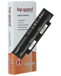 Lapguard 6 cell Replacement Laptop Battery For Dell 312-0234 Black