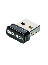 Digisol 150Mbps Wireless Micro USB Adapter(DG-WN3150Nu), black