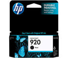 HP 920 Black Ink Cartridge (Black)
