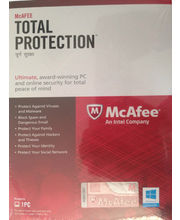 McAfee Total Protection 1 Year, multicolor, 1 user