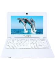 Wespro 10 inch Mini Laptop With Optical Mouse (White)
