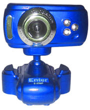 Enter Web camera E-20MPBL (Blue) (Blue)