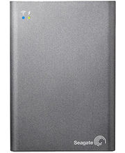 Seagate 1TB Wireless Plus Portable Hard Drive (Grey)