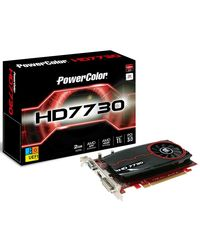 Powercolor AX7730 2GBK3-HE (RADEON HD7730) 2GB DDR3 UEFI Ready Graphics card, multicolor