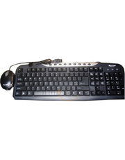 Adcom PS2 Keyboard With USB Mouse Combo