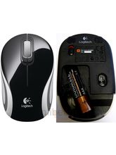 Logitech Wireless Mini Mouse M187 (Black)