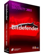 Bitdefender total security 2013 (Multicolor, 3 User)