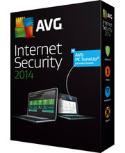 AVG Internet Security 2014, multicolor, 1 user
