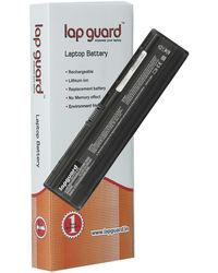 Lapguard 6 cell Replacement Laptop Battery For HP 417066-001 Black