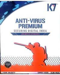 K7 Antivirus Premium 1User/ 1 year, 1 user, multicolor