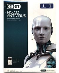 Eset NOD32 Antivirus, standard-multicolor, 1 user