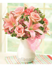 1-800-Flowers Pink Lemonade Bouquet