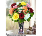 12 Mixed Designer Long Stem Roses (Roses)