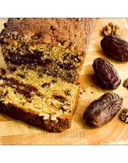 Date and Walnut Cake Loaf