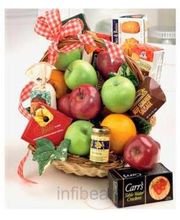 Fruit & Gourmet Basket - Same Day Delivery