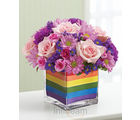1-800-Flowers The Rainbow Bouquet (Daisies,Roses)