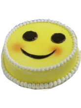 Smily Shape Cake (2 kg, Smily)