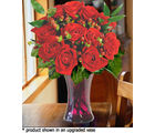 12 Red Designer Long Stem Roses (Roses)