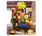 Orchard Fresh Fruit And Snacks Gift Basket - Same Day Delivery