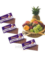 Fruits With Chocolate