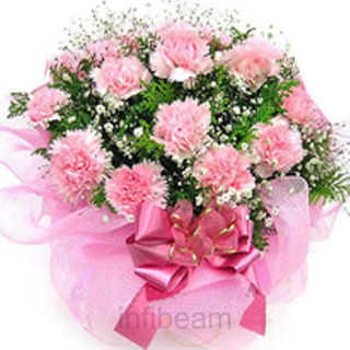 Get 19% Off on 10 Pink Carnations Bunch Only Rs 544 at Infibeam.com Floraonlinefonf478aa54.jpg.2416ba4c66.999x320x320