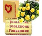 Roses With Toblerone
