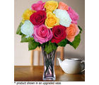 12 Mixed Long Stem Roses (Roses)