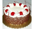 Eggless Blackforest Cake (1 kg, Round)