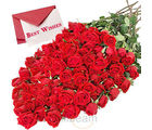 50 Red Roses Bouquet (Roses)