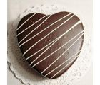 Heartshape Chocolate Cake (1 kg, Heart)