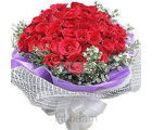 24 Red Roses Bunch (Roses)