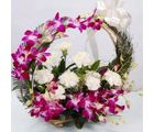 Basket Of Surprize (Carnations,Orchids)